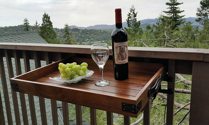 Great For Enjoying Wine and Cocktails or Dining Outdoors